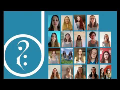 "Mädchenkantorei Wolpertswende-Mochenwangen - Virtual Choir: Kanon ""Viva la vida"""