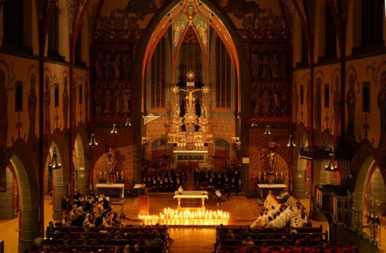 Bild von Empore in St. Georg Ulm am Abendlied