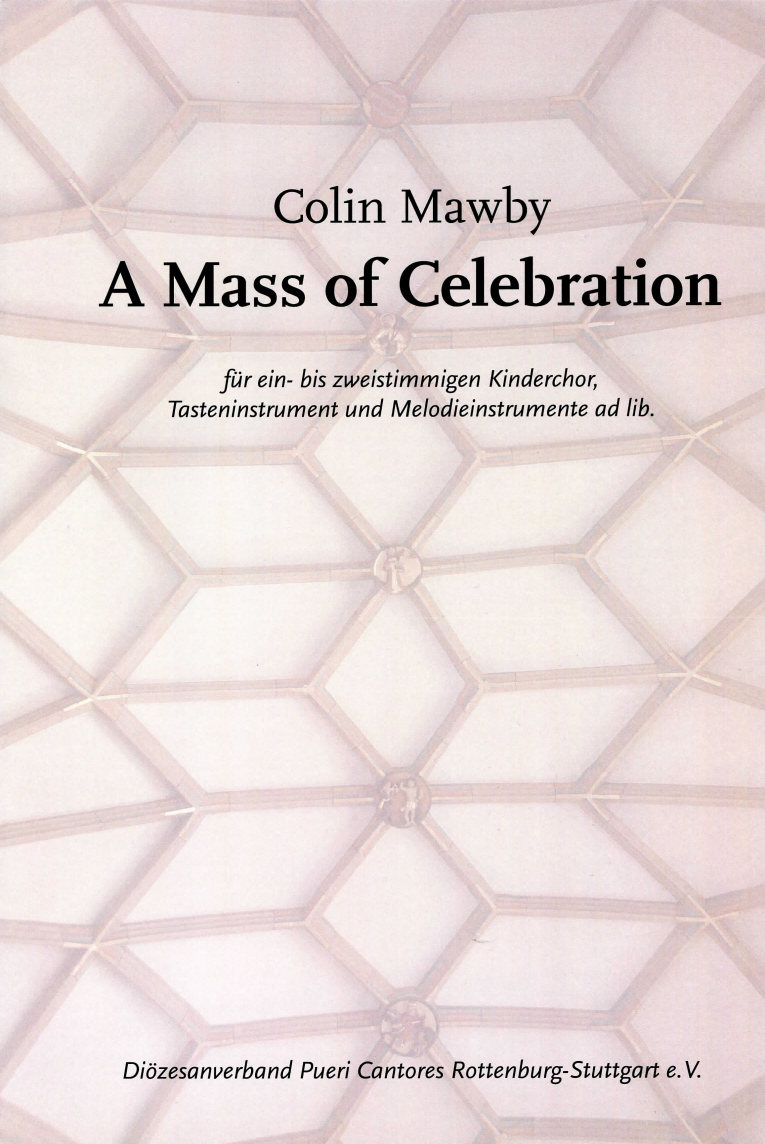 Mass of Celebration Titelbild von Colin Mawby
