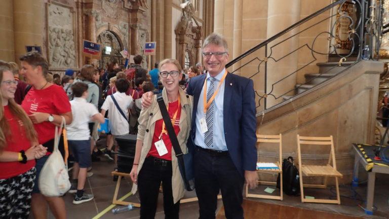 Christiane Schulte und Matthias Balzer
